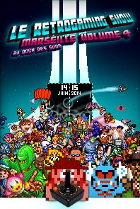 Affiche Retrogaming Show