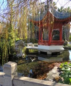 Japanese garden in Parc Borély
